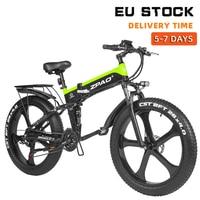 ZPAO Fat Bike e Bike 1000W Folded Electric Bicycle Electronic Bikes Bicicleta Electrica Adulto Mountain Electrical Bicycles 1