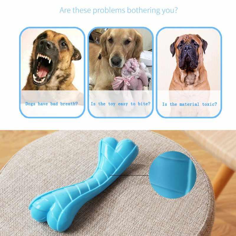 สุนัข Chew ของเล่น Pet Molar ทำความสะอาดฟันกัด Stick แปรงสีฟันสำหรับสุนัข Doggy Puppy ทันตกรรมสุนัขปลอมกระดูกอุปกรณ์
