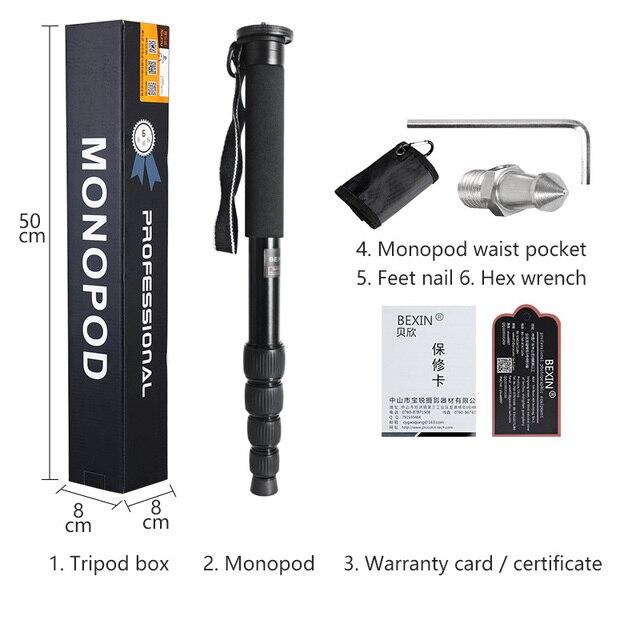 المهنية dslr كاميرا المحمولة Monopod Unipod القطب عصا للمشي لنيكون كانون بنتاكس أوليمبوس SLR DSLR كاميرا رقمية