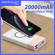 Wireless Power Bank 20000mah Quick Charing Powerbank 18 W PD