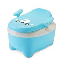 Детский горшок для туалета детский тренировочный круглый мультяшный