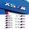 Für BMW 1Serie 2 Serie 3 Serie 5 Serie X1X3X4X5X6 M standard dekoration geändert auto Styling metall aufkleber Auto zubehör