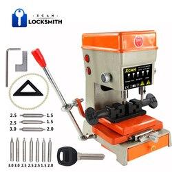Máquina clave Vertical XCAN 368A, máquina cortadora para duplicar llaves de coche, llaves de puerta, cerrajero, herramientas, cortadora de llaves