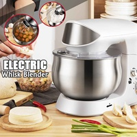 600W 3.5L Stand Food Mixer Dough Maker Electric Whisk Eggs Beater Baking Blender Bowl Food Processor Machine Kitchen Tools 220V