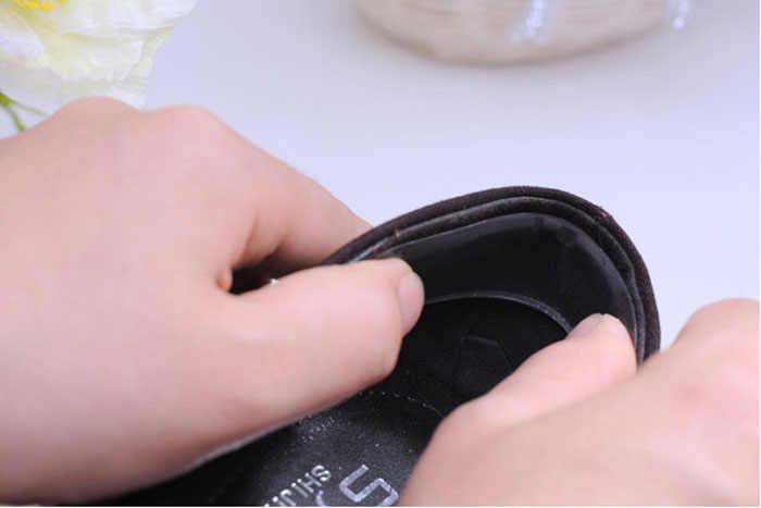 Giày Người Phụ Nữ Tự Dính Silicone Gel Đệm Gót Tấm Bảo Vệ Chân Chân Chăm Sóc Giày Lắp Miếng Lót Đế Trong Chất Lượng Cao Zapatos de Muje