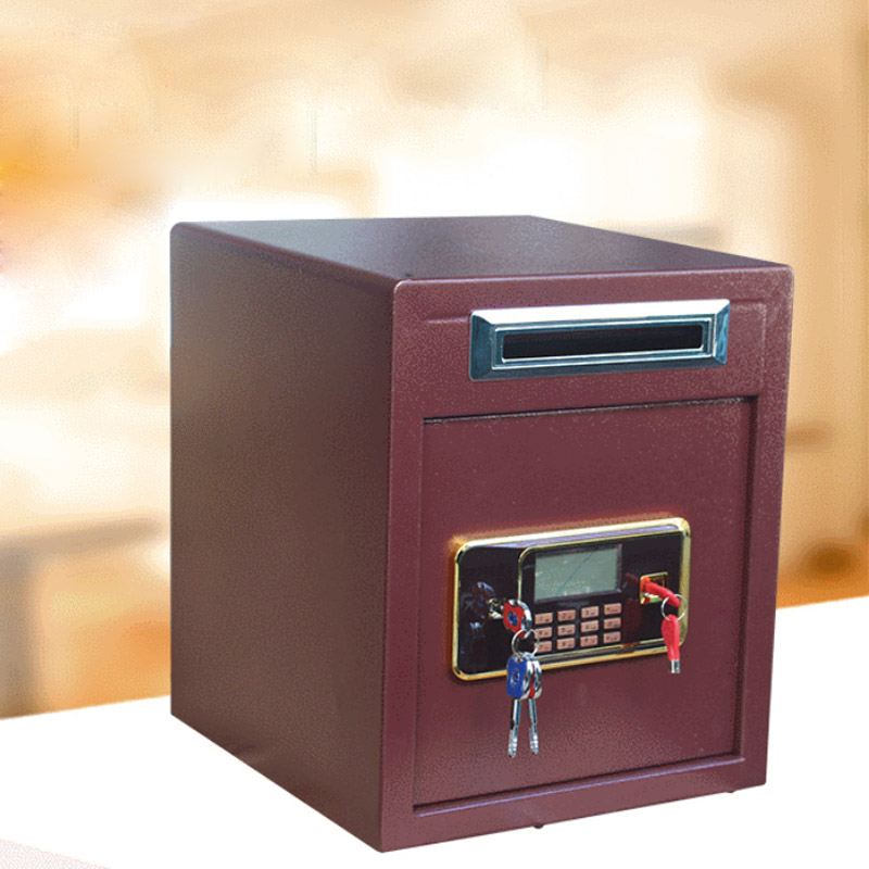 Safety Box Anti-theft Electronic Storage Bank Security Money Jewelry Storage Collection Home Office Security Storage Box DHZ053