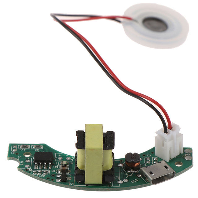 1 مجموعة USB جهاز تنقية الهواء صغير الحجم لتقوم بها بنفسك عدة ضباب صانع لوحة دائرة المحرك الانحلال 5