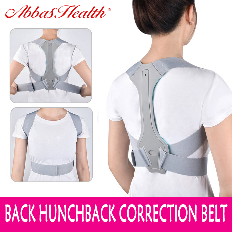 AbbasHealth Adult Children Back Brace Support Belt Posture Correction Posture Corrector For Men Back Support Brace Keep Straight