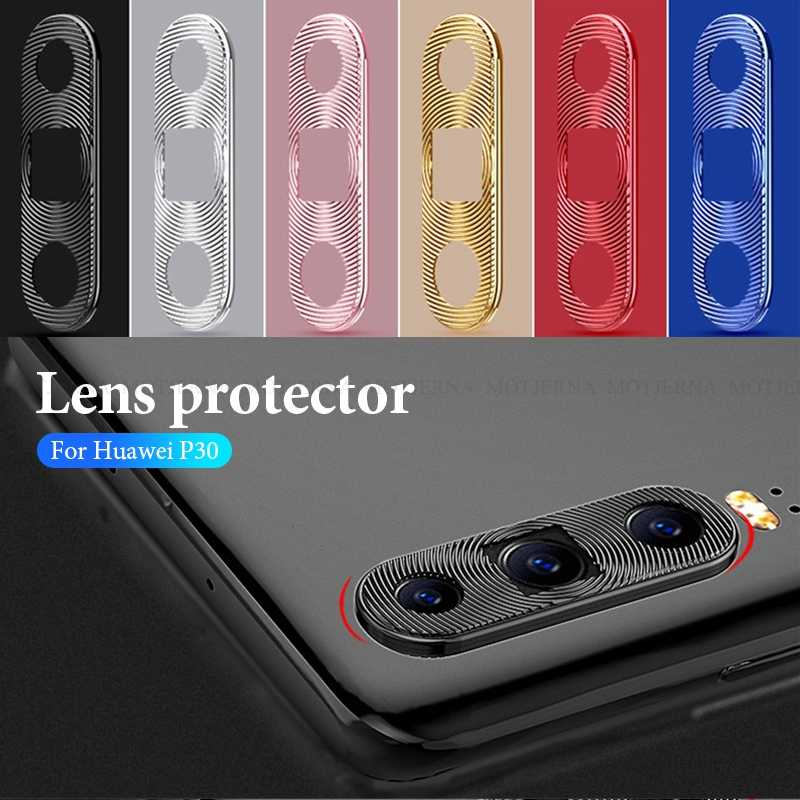 For Huawei P30 P20 Camera Lens Protector Ring Plating Aluminum Camera Lens Protection Cover For Huawei P30 P20 Lite