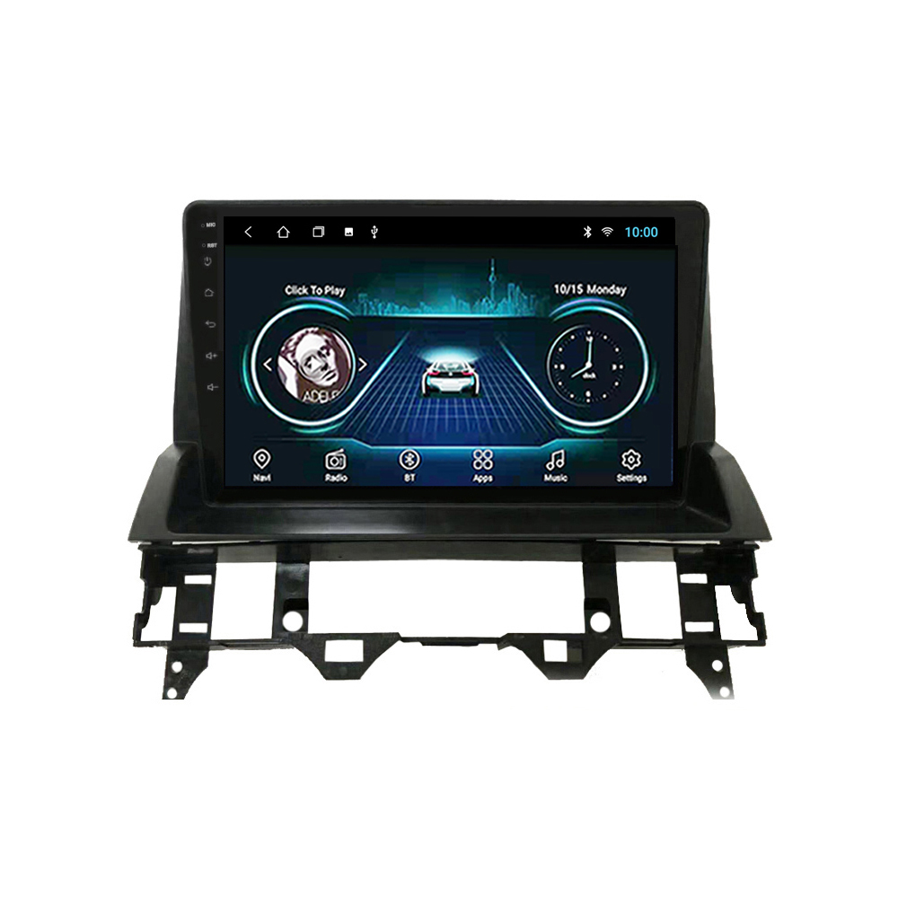 2 din Adroid 8.1 Car Radio Stereo WIFI <font><b>GPS</b></font> <font><b>Navigation</b></font> Multimedia Player head unit For <font><b>Mazda</b></font> <font><b>6</b></font> 2004-2015 image