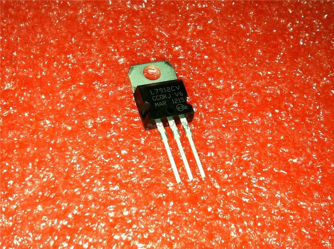 10pcs/lot L7912CV L7912 7912 LM7912 MC7912 TO-220 New Original In Stock