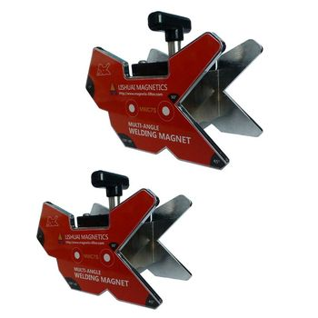 WMC7 On/Off Multi-Angle Magnetic Welding Clamp/Strong Magnetic Force Workholding Angle Tool/Neodymium Welding Magnet