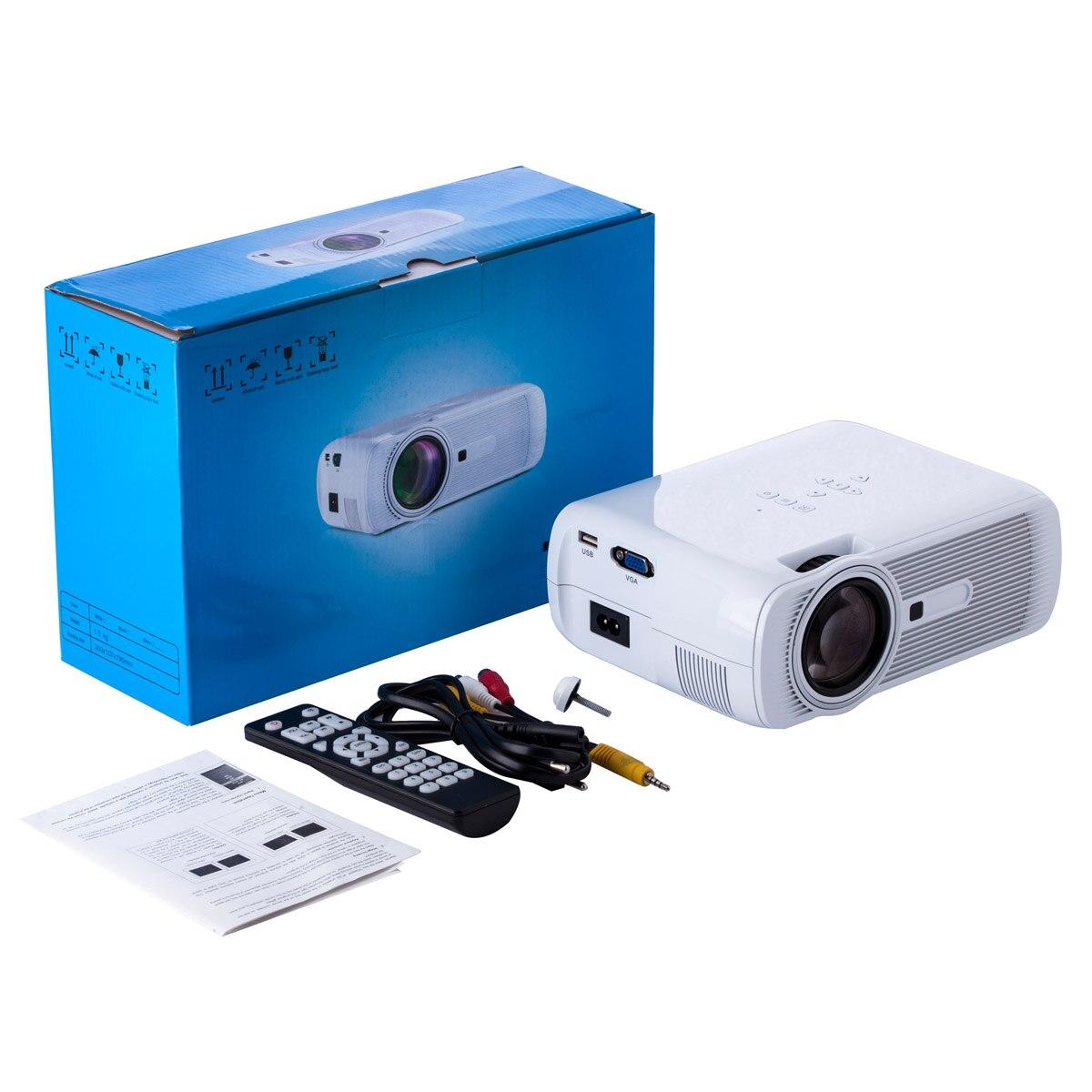 Multimedia 4K 1080P WiFi Android Bluetooth 3D HA CONDOTTO il Proiettore Home Cinema Supporta Orizzontale e Verticale di Vibrazione di Alta Qualità