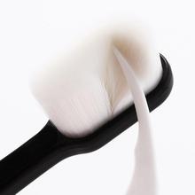 1PC ultra-cienka Super miękka szczoteczka do zębów przenośna ekologiczna podróż użycie na zewnątrz pielęgnacja zębów szczotka czyszczenie jamy ustnej pielęgnacja jamy ustnej narzędzia tanie tanio CN (pochodzenie) Fiber hair + ABS dla dorosłych full Size Toothbrush Soft Bristle Toothbrush Antibacterial Gum Health With Holder Box