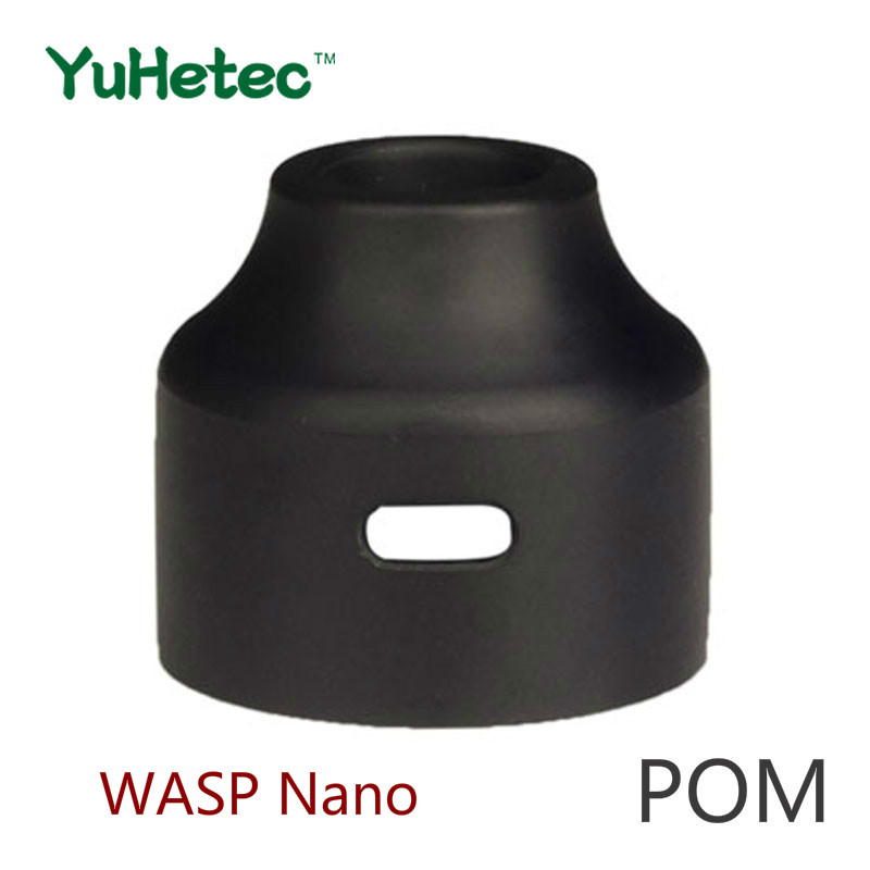 YUHETEC WASP Nano RDA/RDTA 22mm POM/PC/PEI Top Cap Replacement--1PCS WASP Nano RDA 22mm Top Cap Replacement