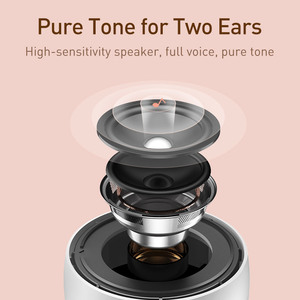 Image 3 - Baseus Portable Bluetooth Speaker Better Bass Colorful Animal Model Waterproof Stereo Sound Mini Speaker For Home & Car