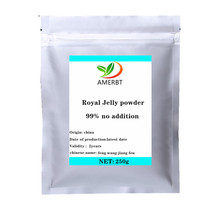 2020 hot sales  Anti-aging-Lyophilized Royal Jelly powder Royal jelly freeze-dried powder 99% High quality free shipping стоимость