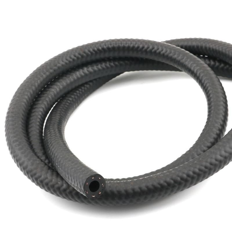 1 м NBR бензиновый дизельный маслостойкий резиновый шланг 4 5 6 8 10 16 20 25 мм Диаметр Гибкая Автомобильная труба высокого давления