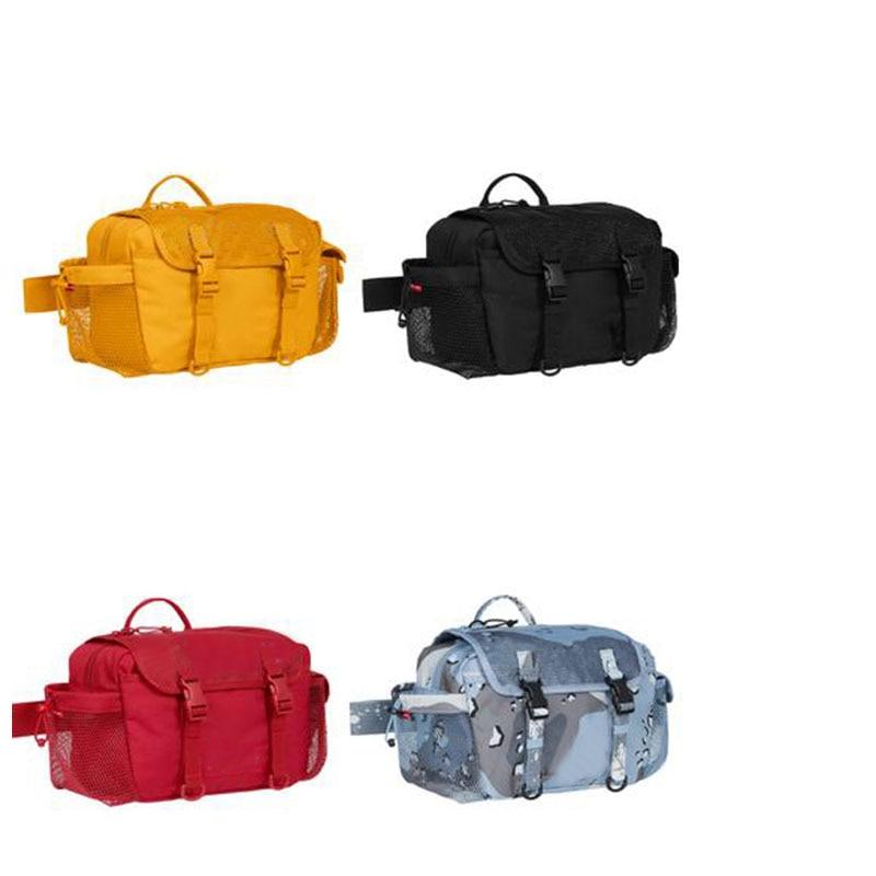 Sureme 2020 New Best Quality Cross Shoulder Bag Women Men Unisex Camouflage Messenger Bag Mesh Surface Shoulder Bags Men