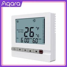 Original smart home Mijia Aqara S2 EigenStone Air conditioner thermostat S2 (Air duct machine)Work For Mijia mi home APP