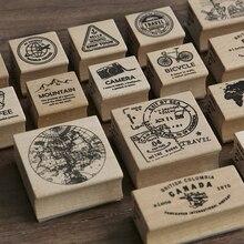 sello madera RETRO VINTAGE
