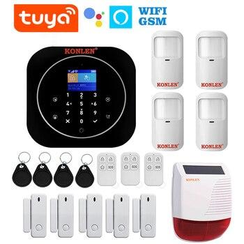 Smart Home Alarm Kit - Wi-fi Sensors