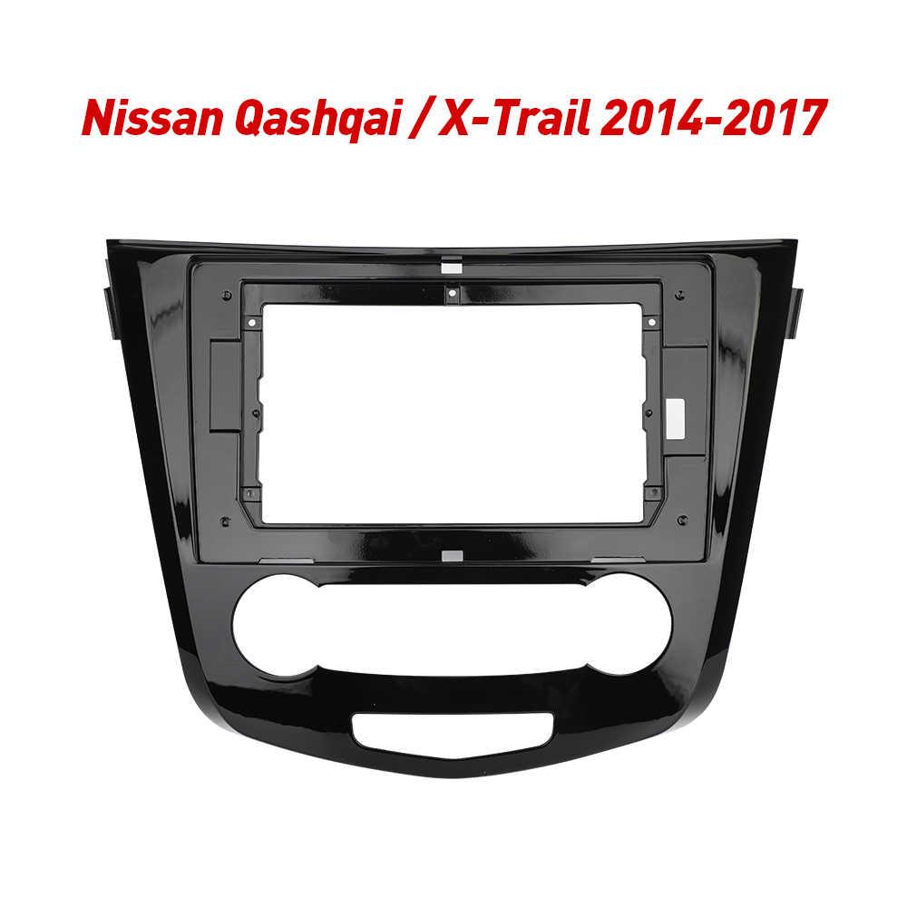 2Din Autoradio Fascia Telaio Misura per Nissan X-Trail X Trail 3 T32 Qashqai 1 J10 2013-2017 Android GPS Pannello Dash Kit Telaio