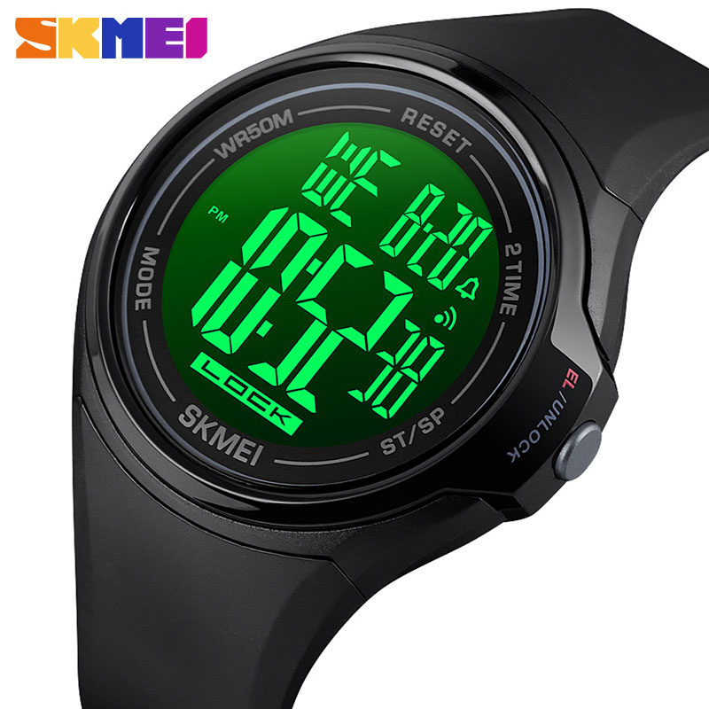 SKMEI Touch Screen Sport Watch Men Science Fiction Style LED Watches 50M Waterproof Alarm Clock Relogio Digital Reloj Hombre