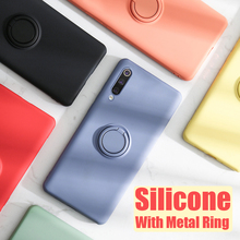 Shockproof Armor Case For Xiaomi Mi 9 Case Mi9 SE Cover Magnetic Metal Ring Car Holder Phone Back Cover Xiomi Xiaomi Mi 9 coque robert cantwell the land of plenty