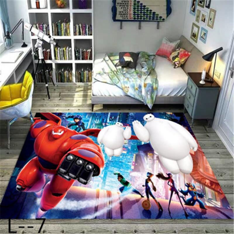 Cartoon Mat Kids Boys Girls Game Mat Carpet Door Mat Bedroom Kitchen Carpet Indoor Bathroom Mat Kids Rug  Baby Playmat
