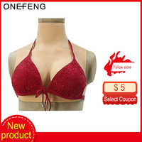 ONEFENG T-C2 C Cup Silicone Breast Forms Realistic Fake Boobs Tits Enhancer for Crossdresser Drag Queen Shemale Transgender