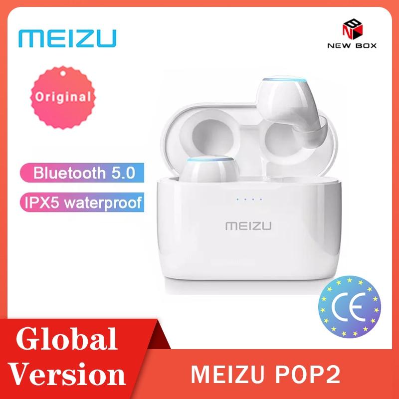 Meizu POP 2 Bluetooth 5 0 Earphone TW50S Global Version Wireless Earbuds IP5X In-ear Sports Earphone Headset For xiaomi Samsung