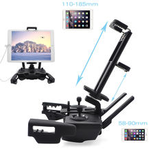 For DJI Mavic Mini Tablet Holder 2 in 1 Folding Stand Mount Mavic Mini Drone Remote Control Bracket Accessories For Ipad Iphone(China)
