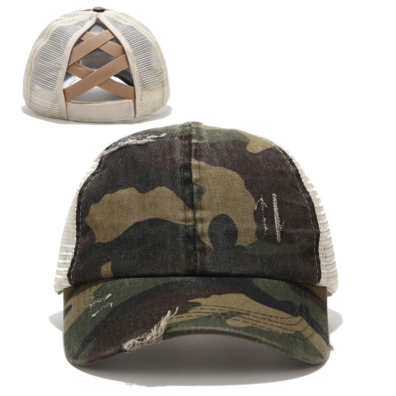 2020 berretto da Baseball coda di cavallo cappellini da camionista in cotone lavato afflitto da donna cappello Casual Snapback estivo cappelli da papà in raso con bordo glitterato 2