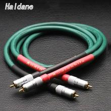 Haldane para HIFI Furutech Alpha series FA 220 OCC połączeniowy RCA kabel Audio wzmacniacz CD DVD z Nakamichi wtyczka RCA