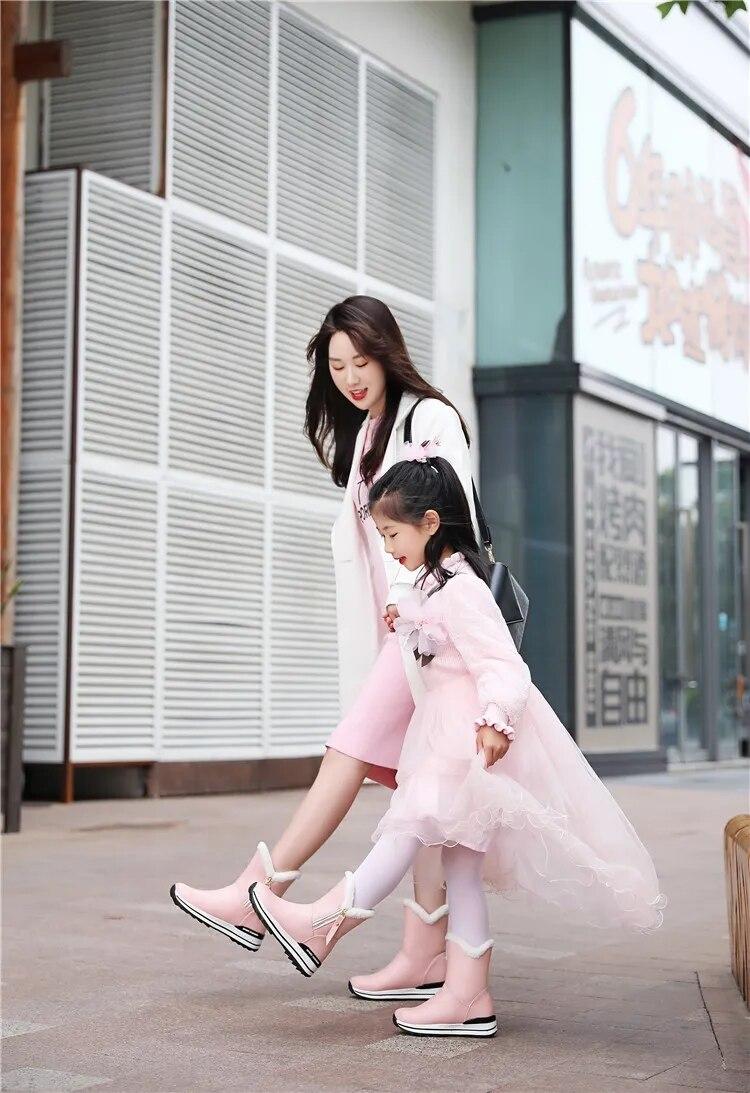 pelúcia mulher botas brancas com pele outono