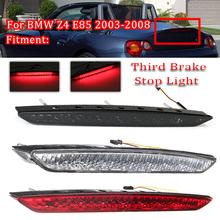 Samochód wysokiej pozycji hamulca czerwone światło ogon tylny hamulec LED lampy kierunkowskazu światło do BMW Z4 E85 oryginalny bagażnik 2003-2008 tanie tanio CN (pochodzenie) Lampa tylna Zgromadzenia Plastic Third Brake Light