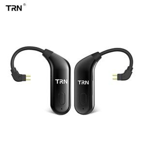 Image 1 - TRN BT20 Bluetooth aggiornamento orecchie di 5.0 Bluetooth orecchie cavo di aggiornamento da corsa auricolare Bluetooth cavo V90 IM2 VX BT10 V30 T2 ARIA bq3