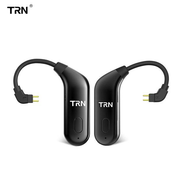 TRN BT20 Bluetooth aggiornamento orecchie di 5.0 Bluetooth orecchie cavo di aggiornamento da corsa auricolare Bluetooth cavo V90 IM2 VX BT10 V30 T2 ARIA bq3