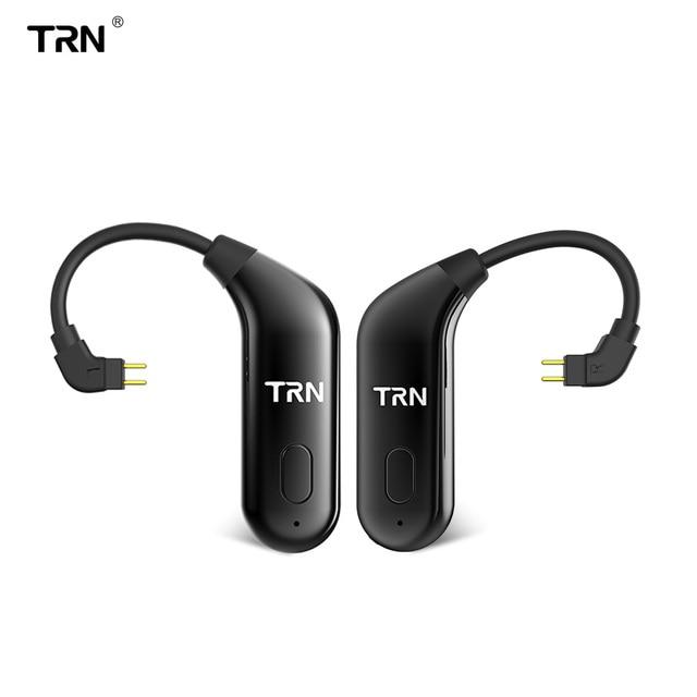 TRN BT20 Bluetooth upgrade ears 5.0 Bluetooth ears upgrade cable running Bluetooth headset cable V90 IM2 VX BT10 V30 T2 AIR bq3