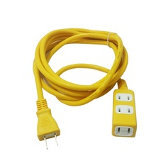 Electrical Socket Outlet One in three Japan HOME Two flat plug Electromobile charger Power Strip overall length 50CM