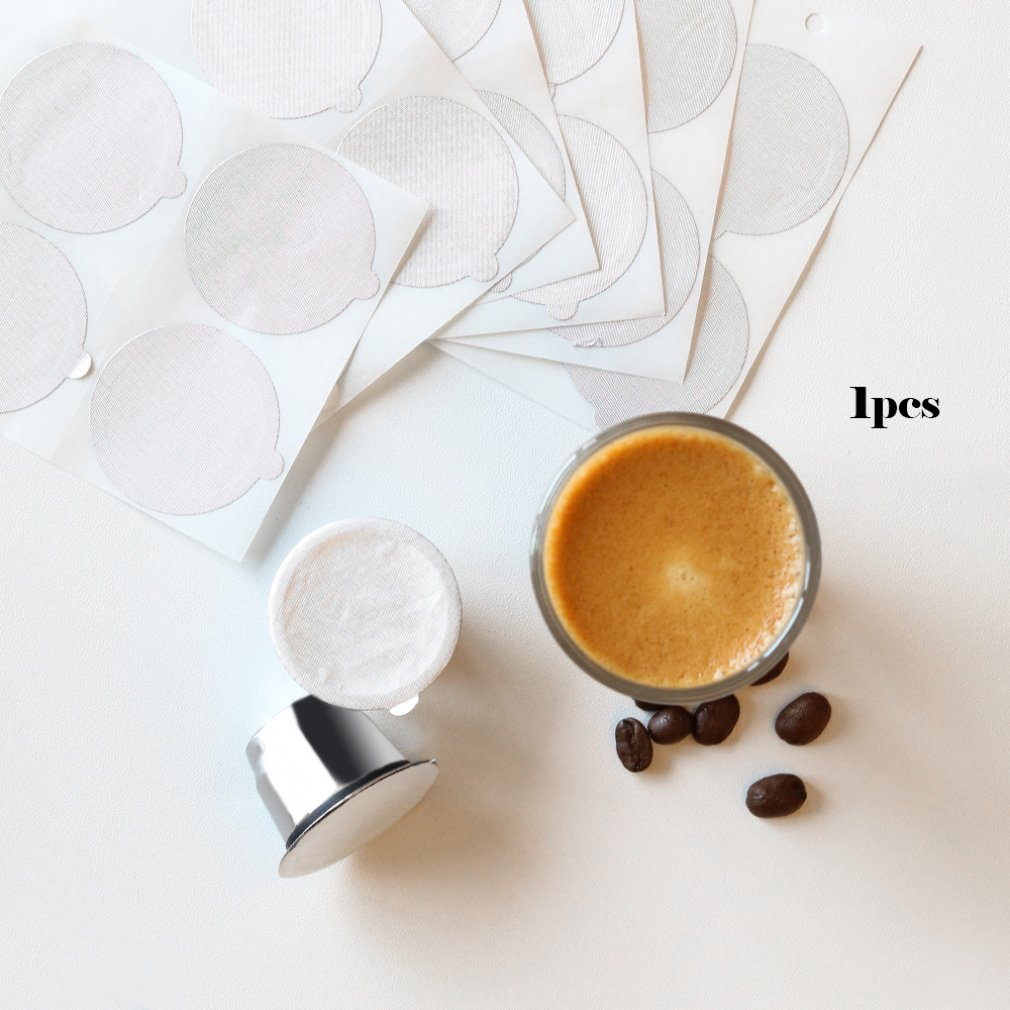 Aluminum Foil Set Stainless Steel Coffee Capsule Cup Nestle Capsule Box Unlimited Filling Using Coffee Filter