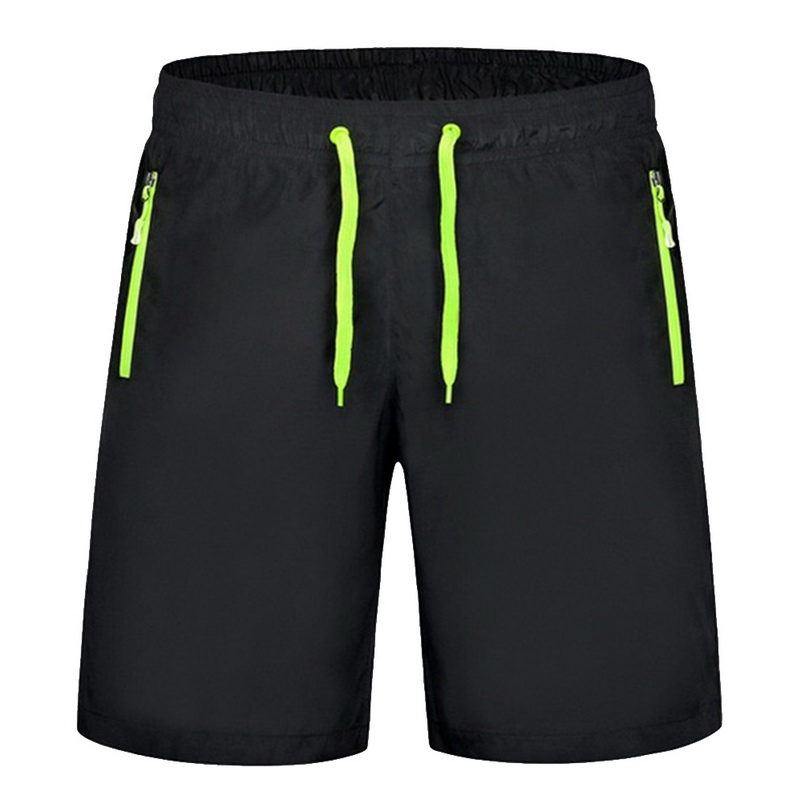Summer Mens Quick Dry Shorts New Casual Shorts Mens Breathable Loose Beach Shorts Male Zipper Pockets Short Pants Plus Size 8XL