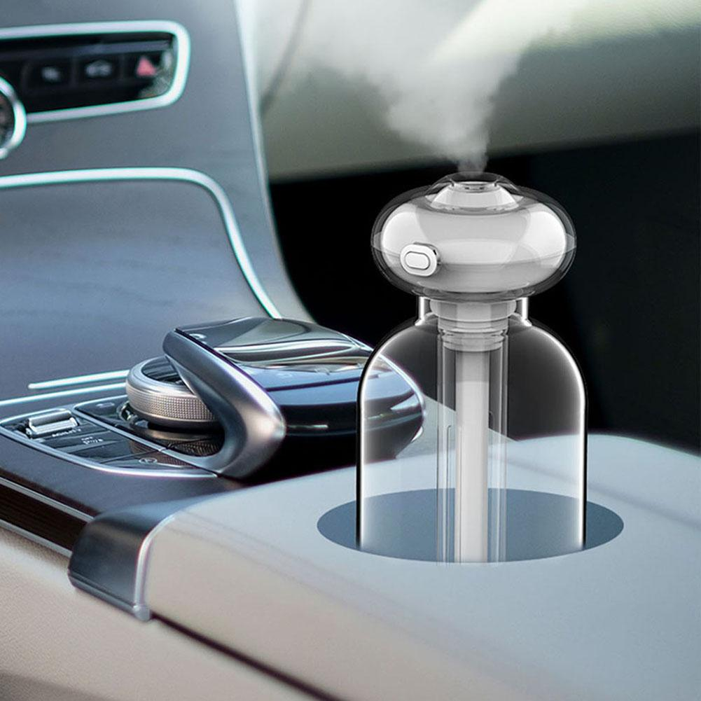 Portable Desktop Mini Air Humidifier Aroma Spray USB Diffuser Home Offices Dormitory Car Doughnut Light Appliances