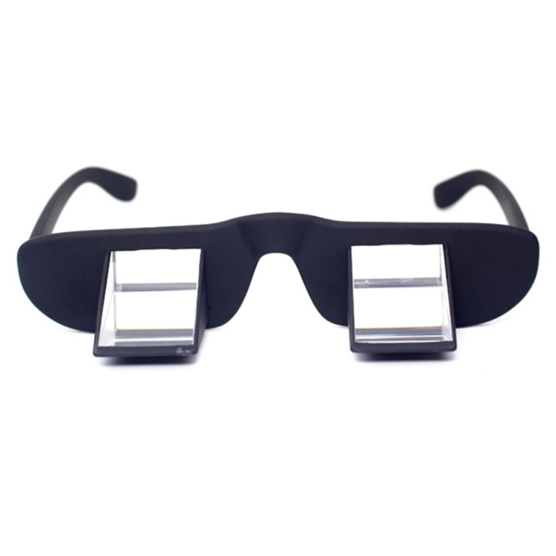 Lazy Refractive Glasses Polarization Climbing Hiking Goggles Prism Spectacles Eyewear For Reading Watching TV