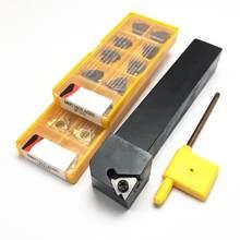 SER2020K16 SER externa de 2525 herramienta de torno de hilo SER1212 SER1616 SER1212H16 12mm herramienta de torneado de hoja 11ER 16ER AG60 SER