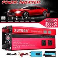 12V 220V Solar Power Inverter 3kw/4kw/5kw/8kw/10kw Car Inverter Voltage Transformer Converter Charger Inversor 12V 220V