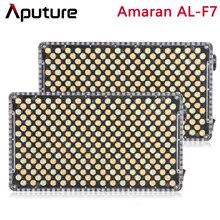 Aputure أماران AL F7 ثنائي اللون درجة الحرارة 3200 9500K CRI/TLCI 95 + 256 قطعة Led لوحة ستبليس تعديل على الكاميرا LED الفيديو الضوئي
