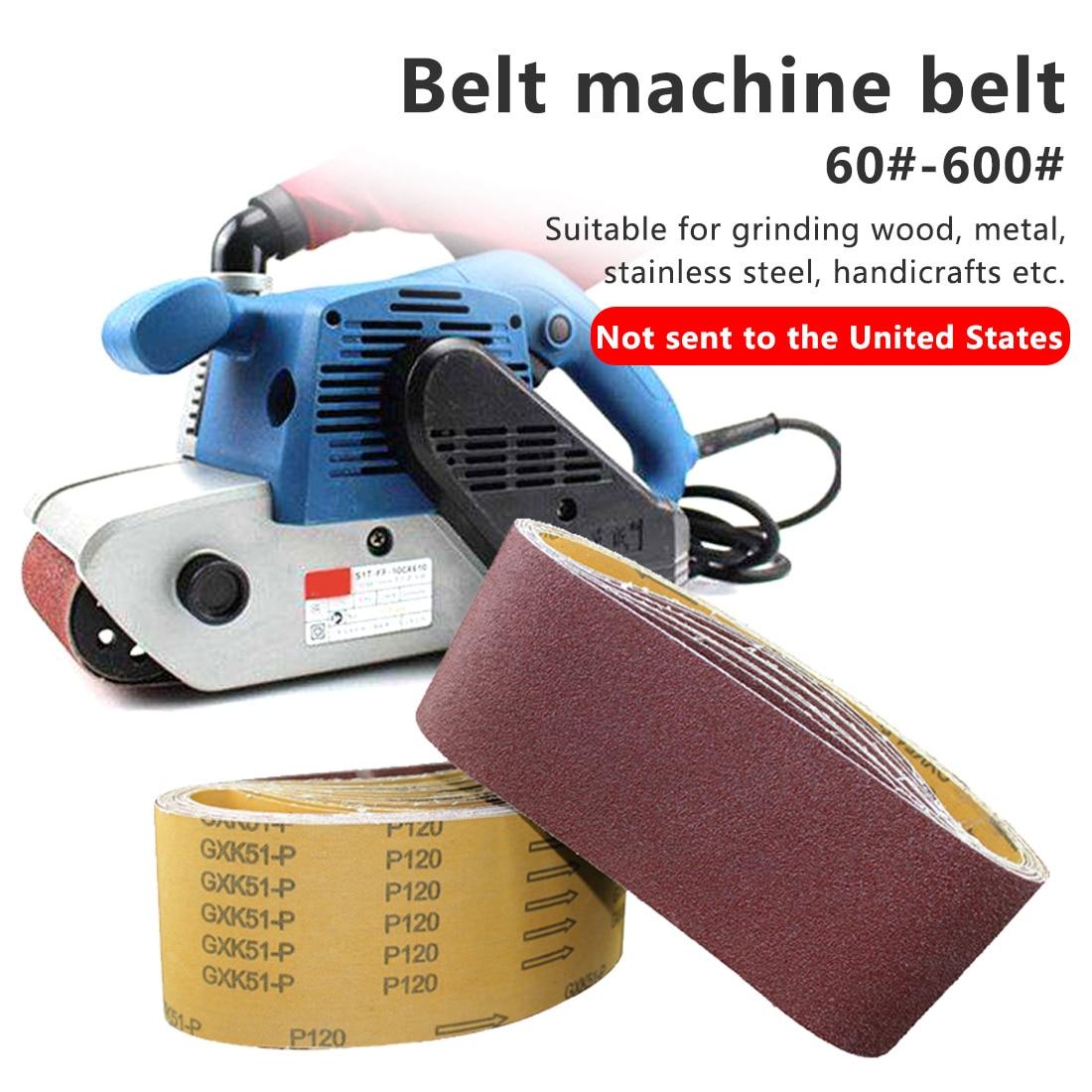 1 Piece 915*100mm Sanding Belts P60 - P800 Abrasive Sand Band For Wood Soft Metal Grinding Polishing P60 - P600 Grinding Polish