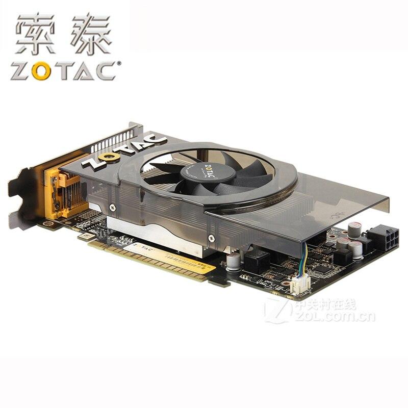 100% ZOTAC Graphics Cards GeForce GTX550Ti-1GD5 GDDR5 192Bit Video Card for nVIDIA GTX 500 Map GTX 550 Ti 1GD5 Dvi VGA Used 3